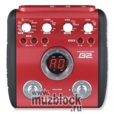 ZOOM B2 - бас-гитарный процессор эффектов