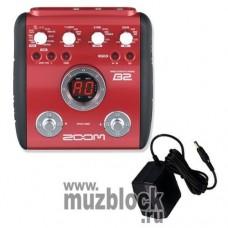 ZOOM B2+AD0016 - бас-гитарный процессор эффектов