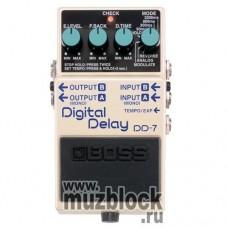 BOSS DD-7 - педаль эффектов для гитары