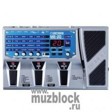 BOSS ME-20 - гитарный процессор эффектов