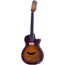 CRAFTER SAT-12 TMVS + Кейс - 12-струнная электроакустическая гитара