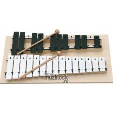GOLDON 11080 - металлофон хроматический, 25 нот