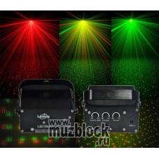 LANLING Mini Laser Light L601RG - световой лазерный эффект