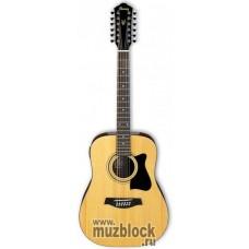 IBANEZ V7212E NATURAL - 12-струнная акустическая гитара