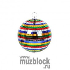 CROON MIRRORBALL MB-15MC - зеркальный шар 15 см, цветной