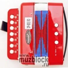 BRAHNER DP-805/RD - детский кнопочный аккордеон