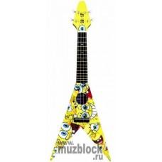 SPONGEBOB SBUV3 - укулеле в форме гитары