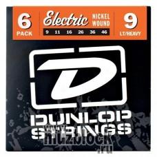 DUNLOP DEN0946 - струны для электрогитары, Light/Heavy, 9-46