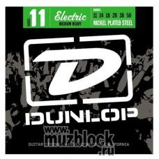 DUNLOP DEN1150 - струны для электрогитары, средне-сильное натяжение, 11-50