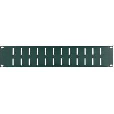 Proel RK2NV - Рэковая панель, 2 высоты, отверстия вентиляции