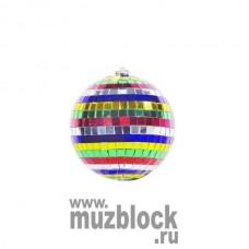 PSL-MB10-MC - зеркальный шар, диаметр 10 см, разноцветный