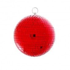 PSL-MB20-SC-R - зеркальный шар, диаметр 20 см, красный