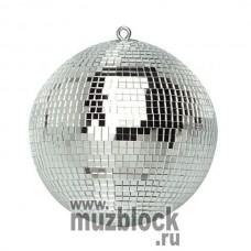 PSL-MB30 - зеркальный шар, 30см, белый