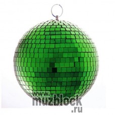 PSL-MB30-SC-G - зеркальный шар, диаметр 30 см, зеленый