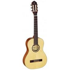 Ortega R121-1/2 Family Series Классическая гитара, размер 1/2, матовая, с чехлом
