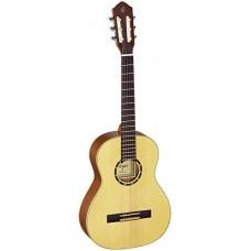Ortega R121-3/4 Family Series Классическая гитара, размер 3/4, матовая, с чехлом