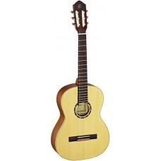 Ortega R121-7/8 Family Series Классическая гитара, размер 7/8, матовая, с чехлом