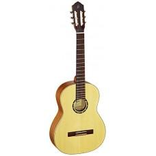 Ortega R121SN Family Series Классическая гитара, размер 4/4, узкий гриф, матовая, с чехлом
