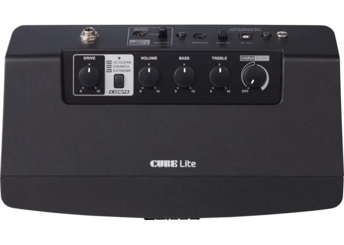 ROLAND CUBE-LT-BK Light - настольный монитор для электрогитары 2х3Вт + Sub 4Вт