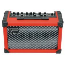 ROLAND CUBE-ST Red - стерео гитарный комбо с микрофонным входом 2,5+2,5Вт