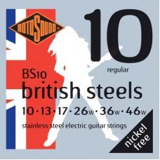 ROTOSOUND BS10 STRINGS STAINLESS STEEL струны для электрогитары