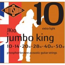ROTOSOUND JK10 STRINGS PHOSPHOR BRONZE струны для акустической гитары