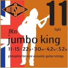 ROTOSOUND JK11 STRINGS PHOSPHOR BRONZE струны для акустической гитары