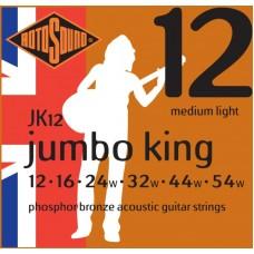 ROTOSOUND JK12 STRINGS PHOSPHOR BRONZE струны для акустической гитары