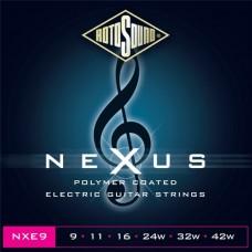 ROTOSOUND NXE9 STRINGS COATED TYPE струны для электрогитары