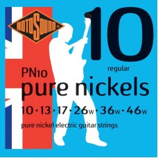 ROTOSOUND PN10 STRINGS NICKEL струны для электрогитары