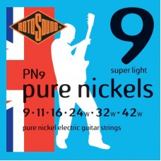 ROTOSOUND PN9 STRINGS NICKEL струны для электрогитары