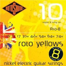 ROTOSOUND R10-8 8 STRING NICKEL SET струны для 8-струнной электрогитары