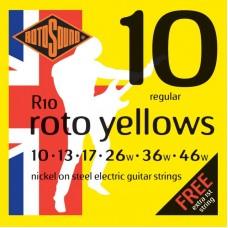 ROTOSOUND R10 STRINGS NICKEL REGULAR струны для электрогитары