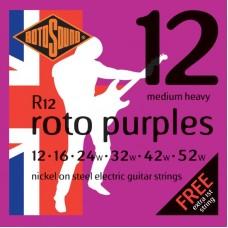ROTOSOUND R12 STRINGS NICKEL MEDIUM HEAVY струны для электрогитары