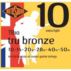 ROTOSOUND TB10 STRINGS PHOSPHOR BRONZE струны для акустической гитары
