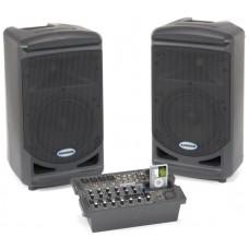 Samson XP308i Мобильный звуковой комплект: Две АС, микшер-усилитель