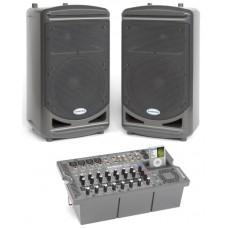 Samson XP510i Мобильный звуковой комплект: 2 АС и микшерный-усилитель