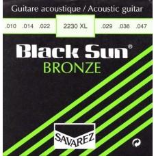 SAVAREZ 2230XL Black Sun - струны для акустической гитары