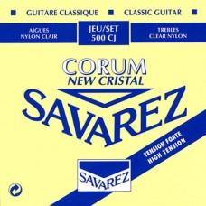 SAVAREZ 500 CJ NEW CRISTAL CORUM - струны для классической гитары