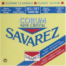 SAVAREZ 500 CRJ NEW CRISTAL CORUM  - струны для классической гитары