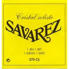 SAVAREZ 570 CS CRISTAL SOLISTE - струны для классической гитары