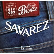 SAVAREZ A130L - струны для акустической гитары