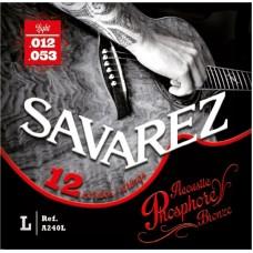 SAVAREZ A240L- струны для 12 струнной акустической гитары