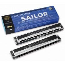 SEYDEL SOHNE Sailor Steel Am (26484A) Губная гармошка, тремоло