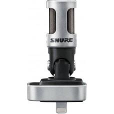 SHURE MOTIV MV88 цифровой конденсаторный стерео микрофон для записи на устройства Apple с разъемом L