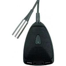 SHURE MX393/O плоский (поверхностный) конденсаторный всенаправленный микрофон с программируемым пере