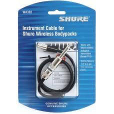 SHURE WA302 микрофонный кабель JACK - TQG для поясных передатчиков