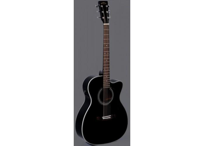 SIGMA 000MC-1STE-BK - электроакустическая гитара
