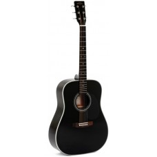 Sigma DM-1ST-BK+ - акустическая гитара