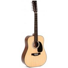 Sigma DM12-1ST+ - двенадцатиструнная акустическая гитара